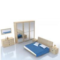 Модель мебели, шкаф купе смоделировать